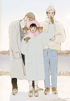 Webtoon, Winter Outfits, Korea, Family Guy, Pure Products, Wallpaper, Illustration, Anime, Pictures