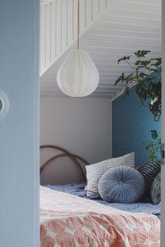 Lampverket unika lampor & lampskärmar - Taklampa droppe eco bomull