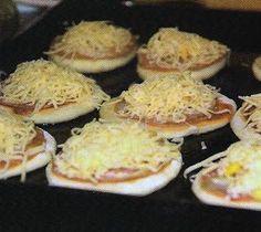 Mini- pizzas, Receita Petitchef