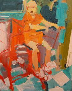 Jennifer Pochinski14 hrs ·oh baby…16 x 20 inches oil/canvas
