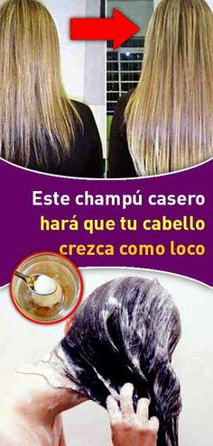 Este champú casero hará que tu cabello crezca como loco Natural Shampoo, Tips Belleza, Dream Hair, Doterra, Curly Hair Styles, Fashion Beauty, Hair Beauty, Hairstyle, Health