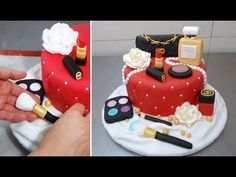 MAKE UP CAKE - HOW TO - by CakesStepbyStep, My Crafts and DIY Projects