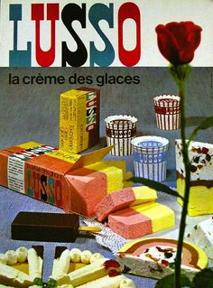 Lusso Ice Cream packaging