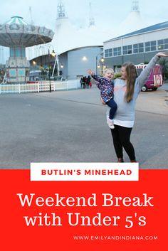 Easter at Butlin's Minehead | A Weekend Break with Unders 5s, Butlin's Minehead holiday with under 5s, Butlin's with kids (not a tots break)