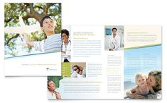 Family Physician Brochure Template Design by StockLayouts