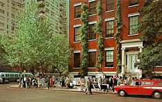 NYC. Vintage view of Greenwich Village | Flickr: