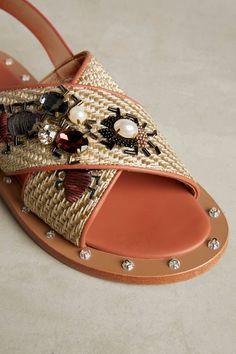 Slide View: 4: Sanchita Enchino Sandals