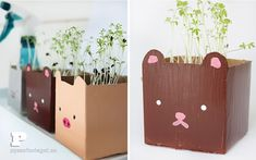 Cute Tetrabrick Planters - http://www.decorationhunt.com/other/cute-tetrabrick-planters/
