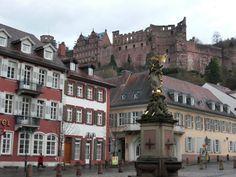 Heidelberg (?), Germany.  Maybe Mannheim.