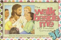 This could not have some at a better time! LDS Preschooling/homeschooling resource with worksheets, lesson plans and activities! What an answer to my prayers!