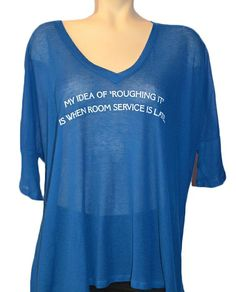 Wildfox  Roughing It Tee