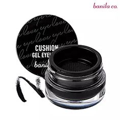 [Banila Co] I Love Cushion Gel Eyeliner Beauty Makeup, Eye Makeup, Fire Lyrics, Eyeshadow For Brown Eyes, Asian Skincare, Gel Cushion, Eyes Lips Face, Gel Eyeliner, Mason Jars