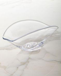 Woodbury Large Rectangular Bowl, Clear - Simon Pearce
