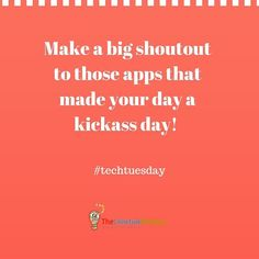 Give a shoutout to your favorite app. The developer will thank you . . . . . . . . . . #techtuesday #techtuesdays #entrepreneur#hustle #business#dream #entrepreneurship#entrepreneurs#entrepreneurlife #businessman#businessowner #businessminded#thecreativeprocess #success#productive#creativity#hustle #grind#working#millionaire#billionaire #millionairemindset#passion#purpose #wealth#instarich#thepursuitofjoyproject #happiness