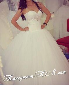 пышное свадебное платье  vk.com/honeymoon_hm