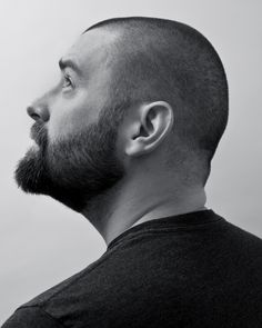 Beards are a good thing. Unfortunately, some of us don't have those nice locks of hair to run your fingers through and style. But the facial hair is still a salvageable alternative. Bald With Beard, Full Beard, Beard Love, Beard No Mustache, Moustache, Stubble Beard, Like A Sir, Bear Mountain, Hair Locks