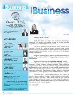 Tümsiad Business İçindekiler Sayfası