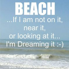 hazard of a beach town upbringing. You always think about the beach:) Ocean Beach, Beach Day, Ocean Girl, Beach Town, I Love The Beach, My Love, I Need Vitamin Sea, Beach Quotes, Ocean Quotes