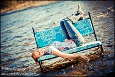 Love the idea of a chair in the water