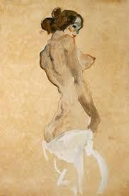 Standing Nude, 1911 Egon Schiele