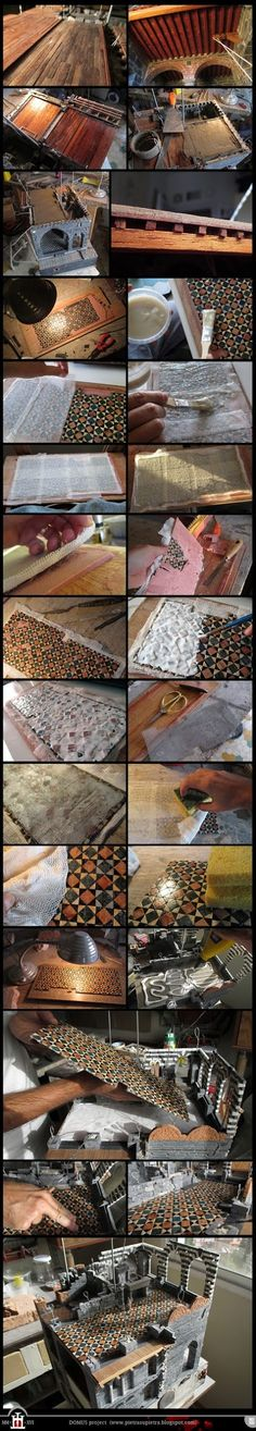 DOMUS project 182-201: Polychrome marble floor (part 2)