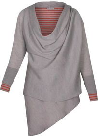 ULYSSES Merino wool wrap cardigan - Komodo