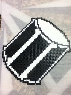 Drum perler beads by OtakuLuka on deviantart
