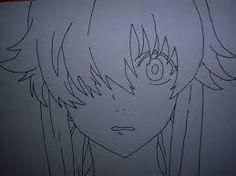 Resultado de imagen de gasai yuno dibujo