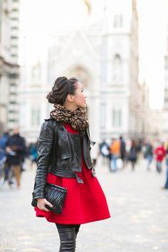 Jacket :: Burberry cropped Dress :: AQ/AQ Shoes :: Jimmy Choo Bag :: Miu Miu (similar here) Accessories :: Louis Vuitton scarf J. Casual Summer Outfits, Fall Winter Outfits, Simple Outfits, Classy Outfits, Trendy Outfits, Cute Outfits, Nyc Fashion, Girl Fashion, Autumn Fashion