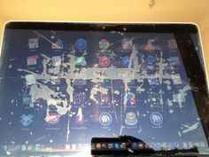 Now comes the 'Staingate'. What's wrong with Macbook's screens? www.motionvfx.com/B3981 #Mac #Apple #Staingate #MacBook