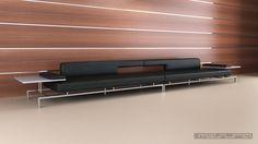 Sofa DOMMA . Diseño Juan Roca para Misura . Modelo para Contract Componible Medidas : 5,88 mts