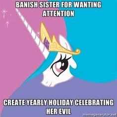 WTH Princess Celestia?!