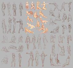 pose study | Tumblr