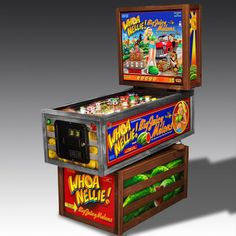 Brand New Whoa Nellie Pinball Machine by Stern Pinball! Pinball Wizard, Pinball Games, Stern Pinball, Luxury Gifts For Men, Modern Classic, Game Room, Arcade, Old Things, Cool Stuff