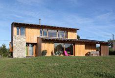 Maison individuelle contemporaine - Omps - Cantal - Auvergne - Architecte Simon Teyssou