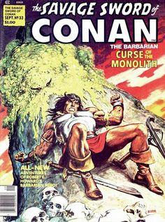 The Savage Sword of Conan - Nº 33