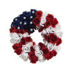 Americana Wreath found on Polyvore