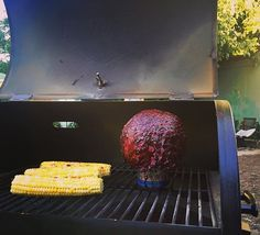 #BeerCanCabbage fit for your zombie and vegetarian friends. No matter the protein, #Traeger can do no wrong.   #TraegerGrills #TraegerFightNight Reposted Via @alisha_dee_