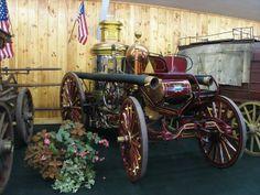 1907 Steam Pumper | 1907 Fire Wagon Amoskeag Steam Pumper @ Fryeburg Fair