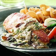 Chicken Breasts with Mushroom Cream Sauce - EatingWell.com