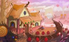 Candy House by Aryvejd.deviantart.com on @DeviantArt