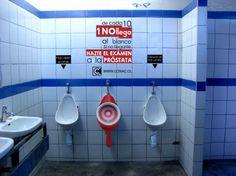 Urinario intervenido