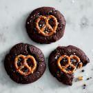 Try the Chocolate Caramel Pretzel Cookies Recipe on williams-sonoma.com/