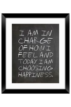 i am in charge of how i feel and today i am choosing happy. #halfwaythere www.halfwaythereflorida.com