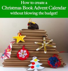 How to create a Christmas Book Advent Calendar without blowing the budget | Honey Bee Books