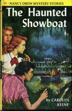 spooky swamps!  60's art on 70's yellow hardback