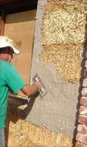Straw Bale House Building - How We Did It.