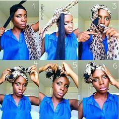 Headwrap pictorial