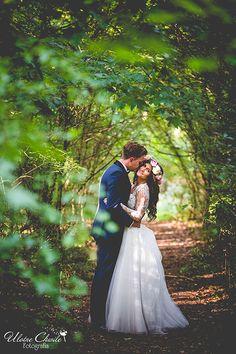 Wedding session in forest. Sesja plenerowa w lesie.