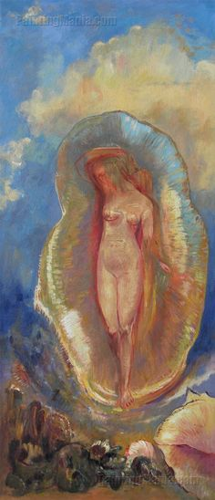 The Birth of Venus 4 by Odilon Redon